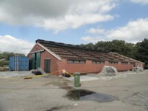 oud dak zonder asbest